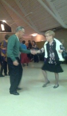 Couple dances at Rockin' for Africa Event on Saturday Nov. 9. By Cindy St-Laurent.