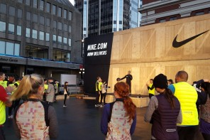 Nike shows off winter running gear