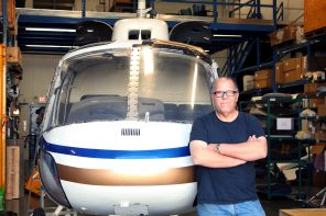 Beneath the blades: the Industry of old helicopters