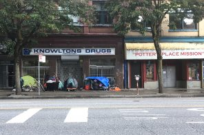 Downtown Eastside: a district of contrast