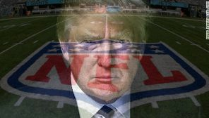 NFL vs. Donald Trump